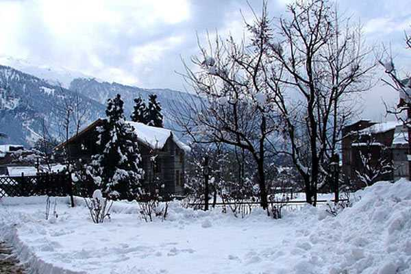 Snow-in-Manali